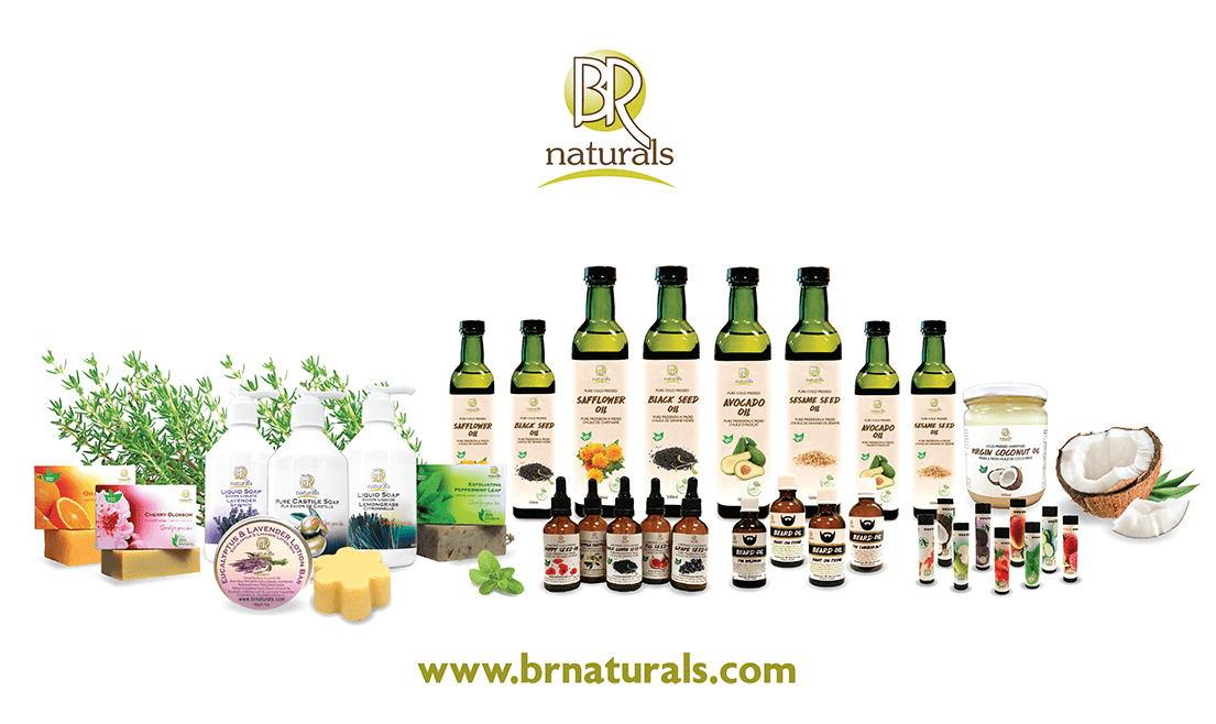 Natural Organic Cosmetics Product Line