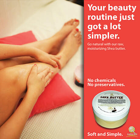 Body Butter Ad