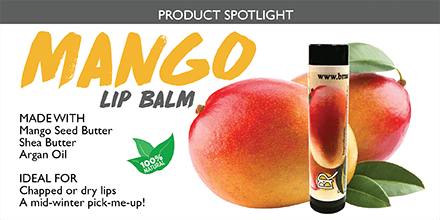 Natural Mango Butter Lip Balm